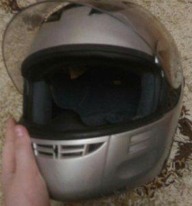Мото шлем , трансформер.
