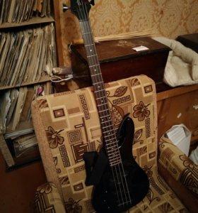 Бас-гитара STAGG BC300LH-BK(леворукая)
