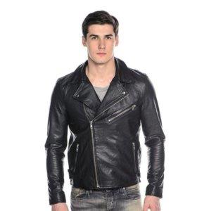 Кожаная куртка брэнда Selected (Дания)