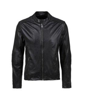 Кожаная куртка брэнда S. Oliver (Германия)