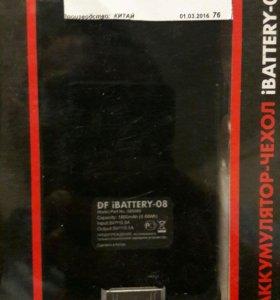 Чехол акамулятор на iPhone 4_4s