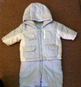 Детский полукомбинезон и курточка
