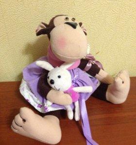 🔴интерьерная кукла Ручная работа