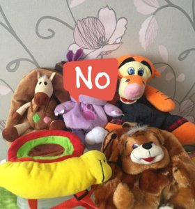 Детские рюкзаки-игрушки