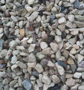Щебень, Песок, ПГС, Камень природный