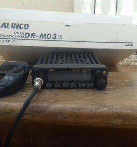 Автомобильная радиостанция ALINCO DR-MO3sx