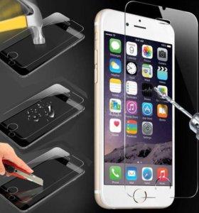 Защитное стекло на iPhone 4/4s/6/6s/6+/7/7+