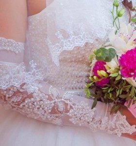Свадебные нарукавники