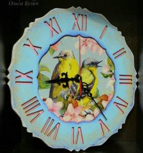 "Настенные часы ""Весна"""
