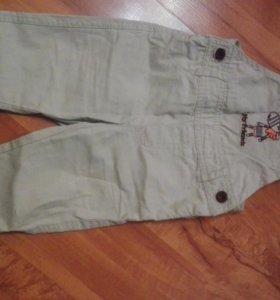 Легкие штанишки на лямках