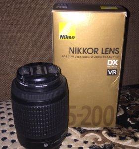 Объектив Nikon (Nikkor) 55-200