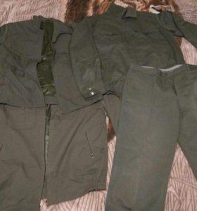 ПШ, военная форма, рабочая одежда, штаны, куртка,