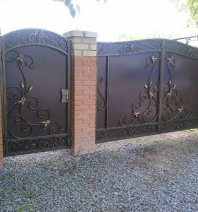 Изготовление и монтаж кованых ворот