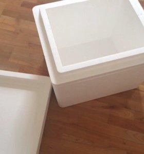 контейнер из пенопласта (термоконтейнер) 2 шт.