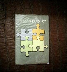 🍀Эко-Обложка на паспорт новая