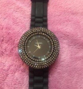 Часы Chanel каучук ремешок