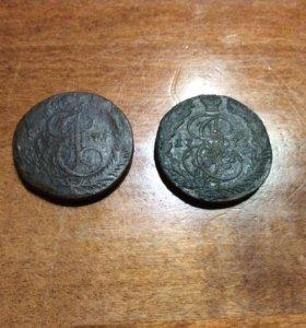 5 копеек 1775г.