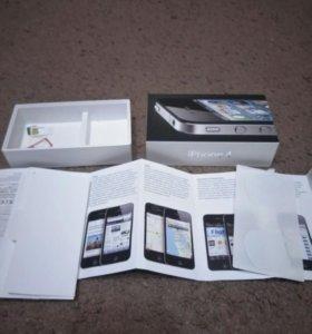 Оригинальная коробка iPhone 4