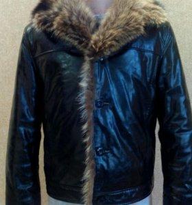 Куртка мужская (Волк-Енот)