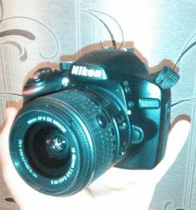 Nikon D3200 + карта и сумка