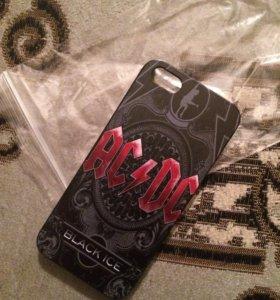 Чехол iphone 5s AC/DC