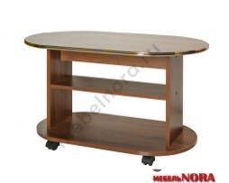 Журнальный столик овальный