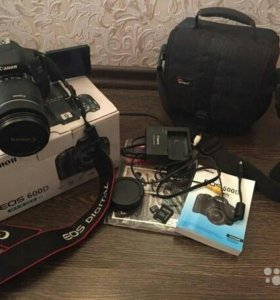 Canon EOS 600D Kit 18-135 IS Black ТОРГ.