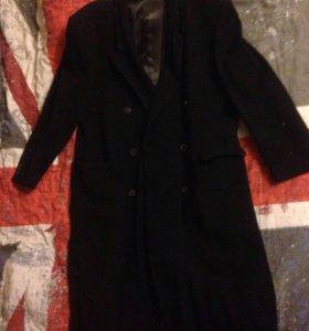 Пальто драповое мужское