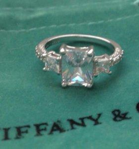 Кольцо под Tiffany р-р 18