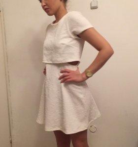 Неопреновое платье topshop