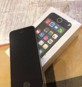 Iphone 5S 16 gb черный новый