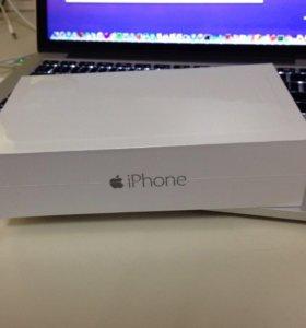 Новый в упаковке Iphone 6 16гб черный оригинал