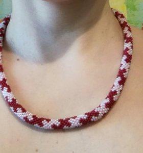 Ожерелье+браслет