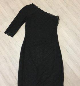 Маленькое чёрное платье кружево