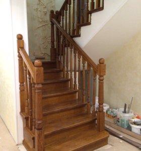 Деревянная лестницы