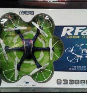 Квадрокоптер RF 604, 6 винтов, синий