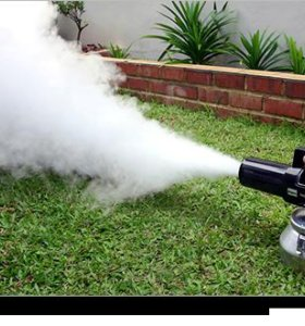Удаление запаха. Технология Сухой Туман