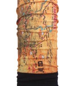 """Шарф-бафф """"Карта Тибета"""""""