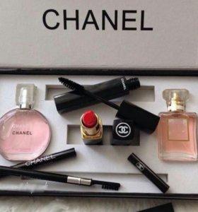 Набор парфюмерии+косметики Chanel 5 в 1