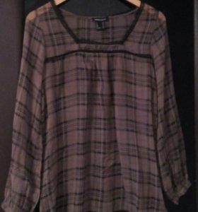 Блузка невесомая прозрачная 42-46