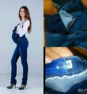 Комбинезон для беременных делается джинсами