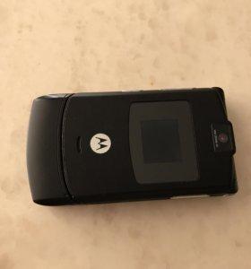 Телефон Моторола V3 с номером 89264196666