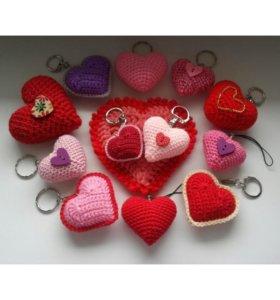 Брелочки-сердечки ❤💝💖