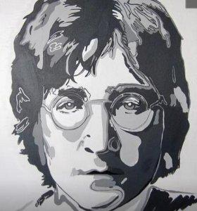 Портрет Джона Леннона