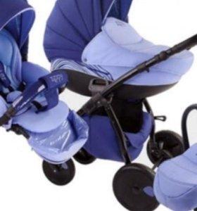 Детская коляска 3в1.