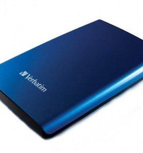 Внешний жесткий диск Verbatim 320Gb USB 2.0 NEW