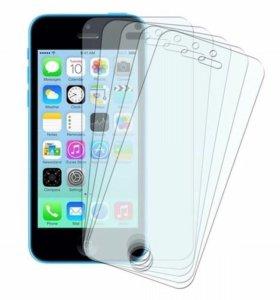 Защитная плёнка на iPhone 5