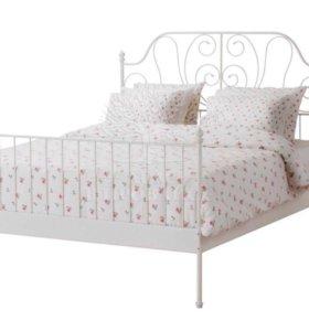 Кровать с матрасом бу 1 год в идеальном состоянии
