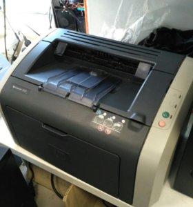 HP Laser Jet 1010 Заправлен Обслужен
