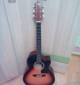 Французская шестиструнная гитара Kati